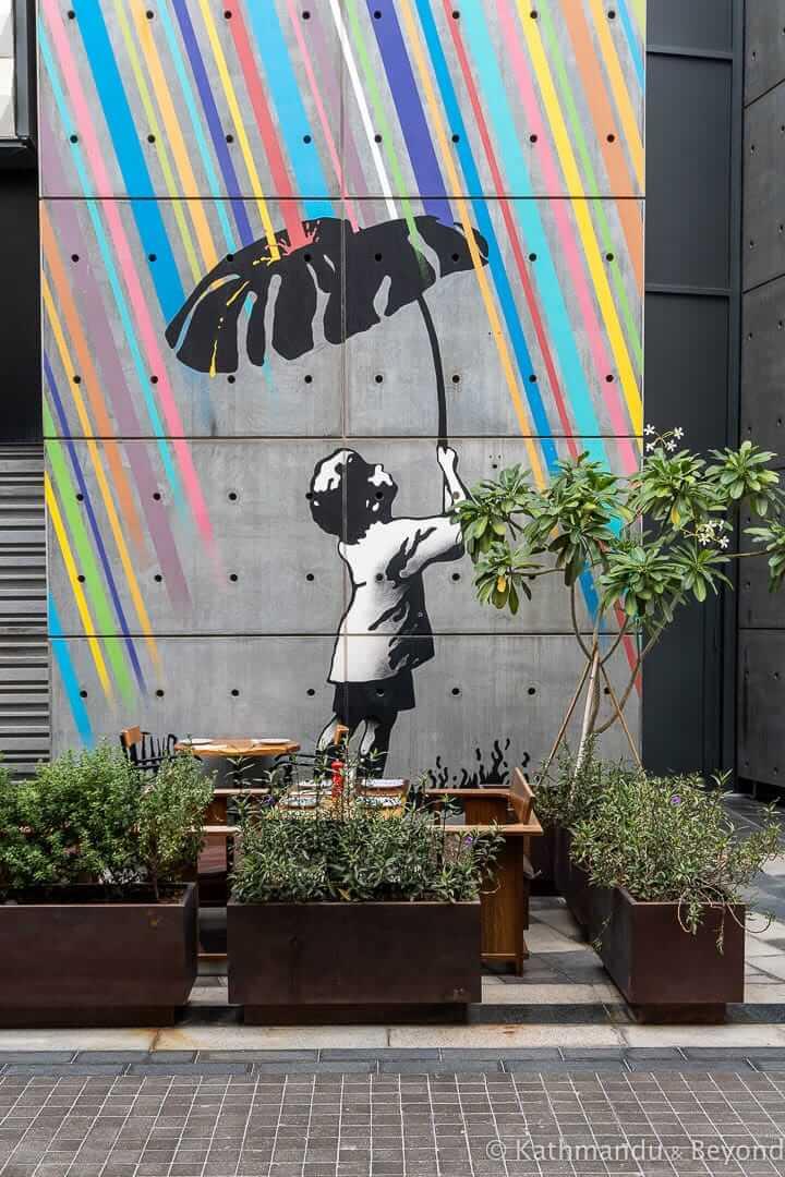 Not Everything is so Black & White by Eelus, City Walk Street Art Dubai, United Arab Emirates