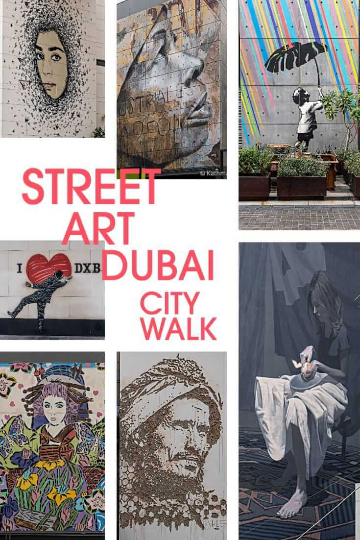 One of the best places to find street art in Dubai is City Walk, a lifestyle complex in Al Wasl district, where international artists painted murals #streetart #uae #dubai