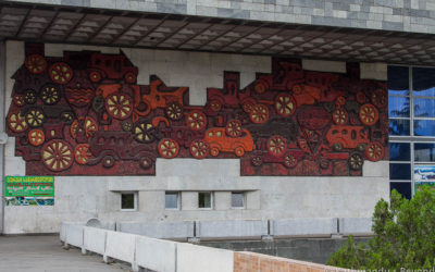 """History of Transport"", Ortachala Bus Station)"