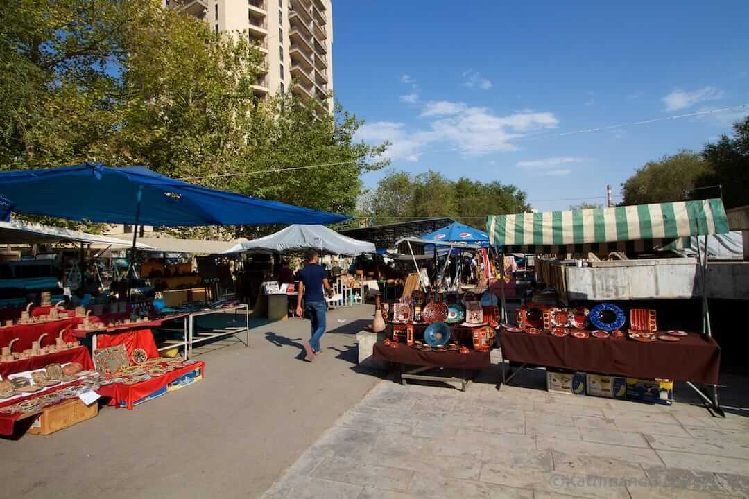Vernissage Market Yerevan Armenia