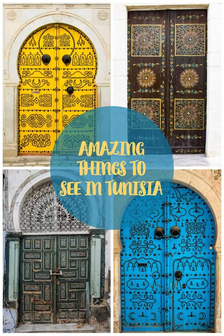 Amazing places to see in Tunisia #northAfrica #travel #photoessay #traveltips #offthepath #doors
