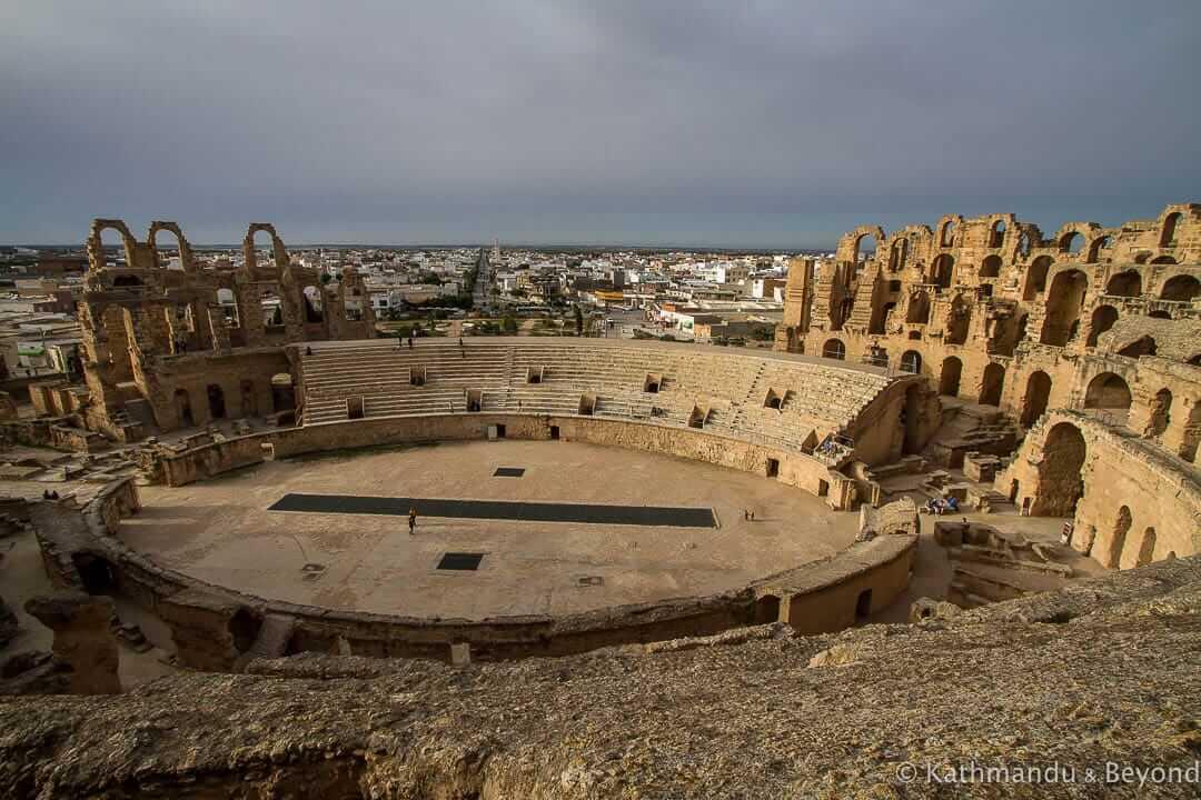 Amphitheatre El Djem (El Jem) Tunisia-45