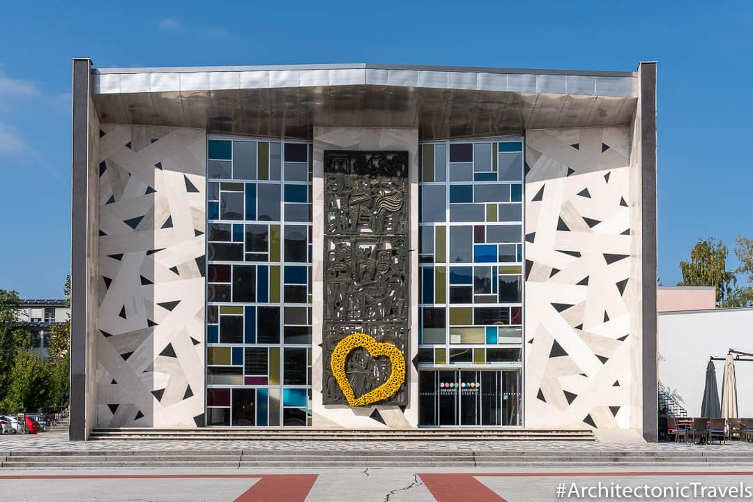 Cultural Centre Tito Square Velenje Slovenia