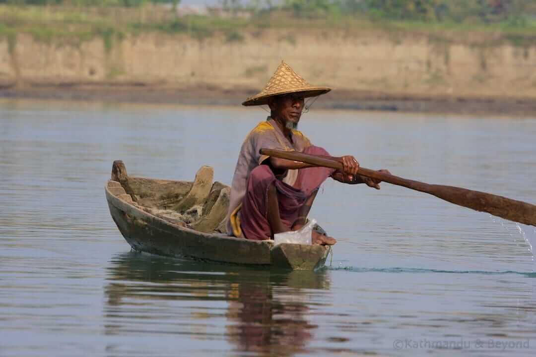 Lemro River Mrauk U Burma (Myanmar) 3