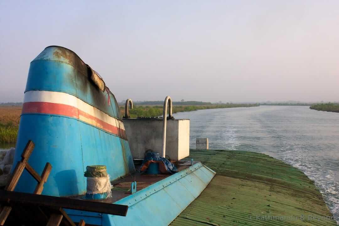 Mrauk U to Sittwe Burma (Myanmar) 8