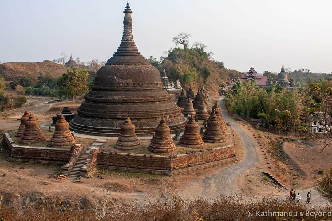 Ratanabon Paya Mrauk U Burma (Myanmar) 3-2