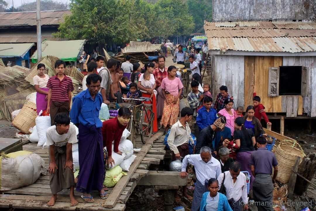 Sittwe to Mrauk U boat Burma (Myanmar) 4