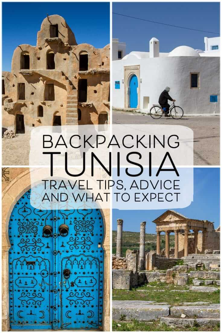 Backpacking Tunisia - travel tips, advice and what to expect #northAfrica #backpacking