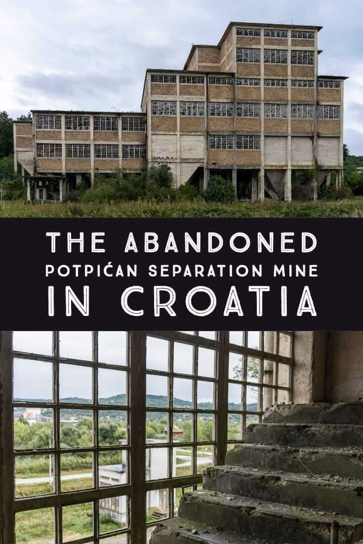 Abandoned Croatia_ former Separation Mine in Potpićan #urbex #Europe #Balkans #Tito