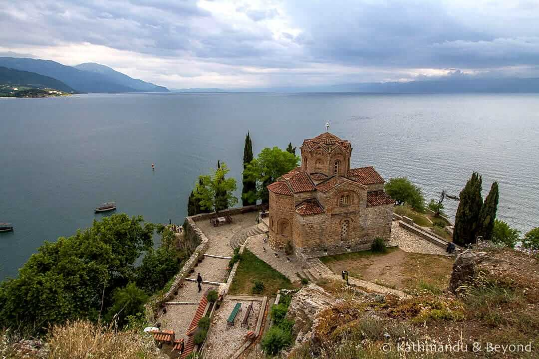 Church of St. John at Kaneo Ohrid Macedonia-5