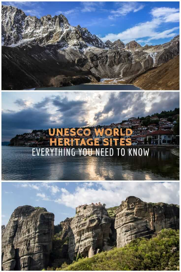 UNESCO World Heritage Sites - Everything you need to know #travel #landscapes #naturalbeauty #culture