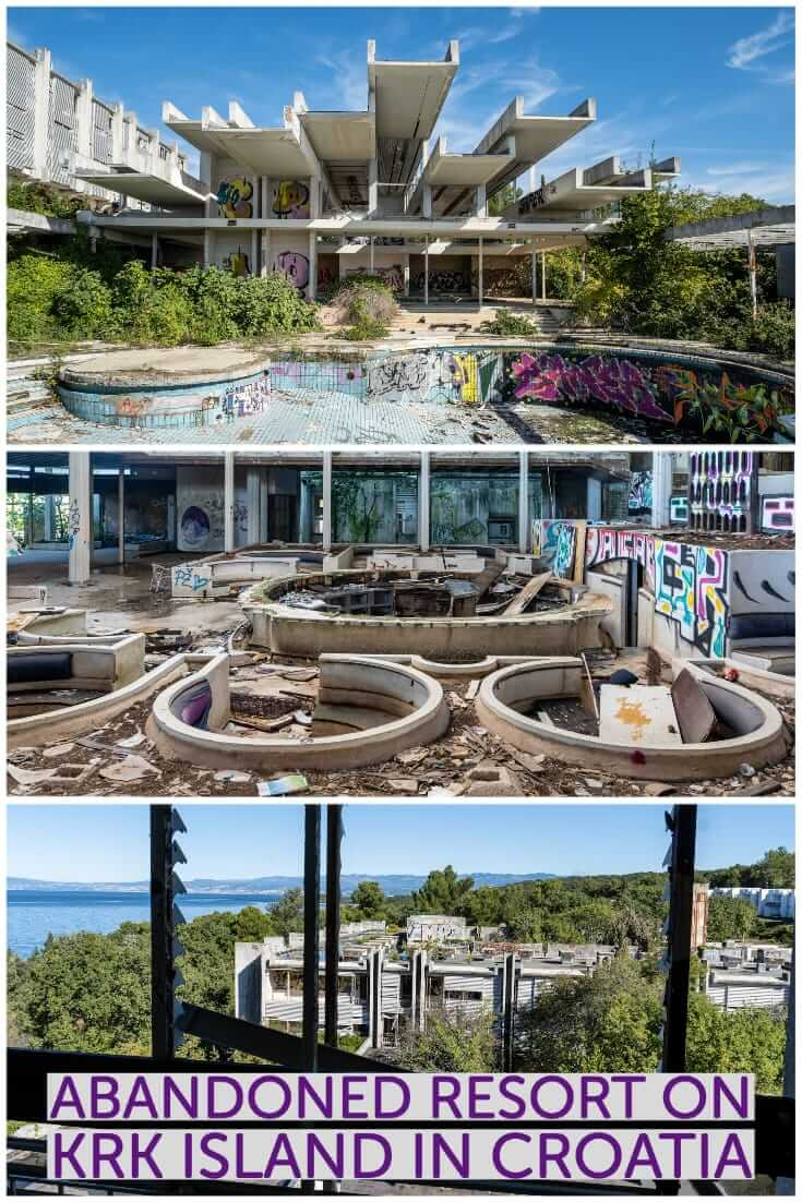 Abandoned Croatia - Visiting the Haludovo Palace Hotel on Krk Island. Also known as the Penthouse Adriatic Club #urbex #Europe #Balkans #urbandecay #formerYugoslavia