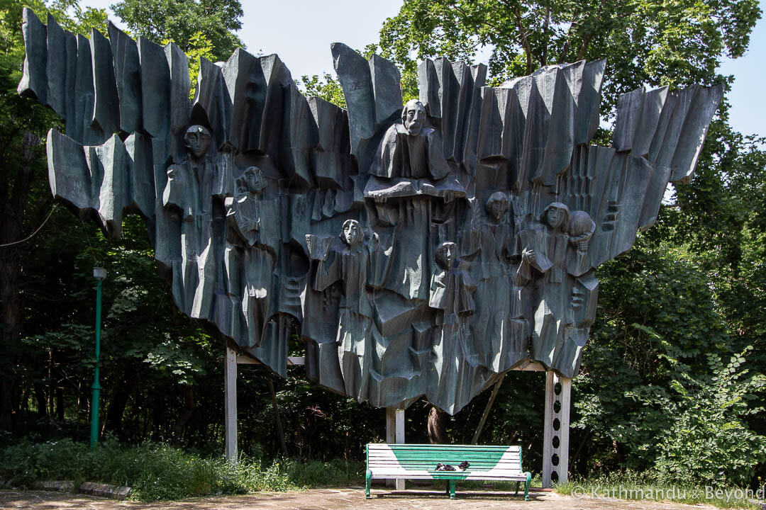Monument to Song and Writings (Gorky Park Monument) in Gyumri, Armenia | Soviet monument | former USSR
