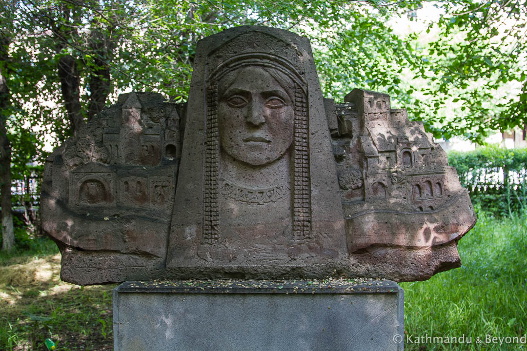 Unknown Monument in Gyumri, Armenia | Soviet monument | former USSR