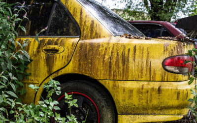 In Photos: Abandoned cars and other forsaken forms of transport