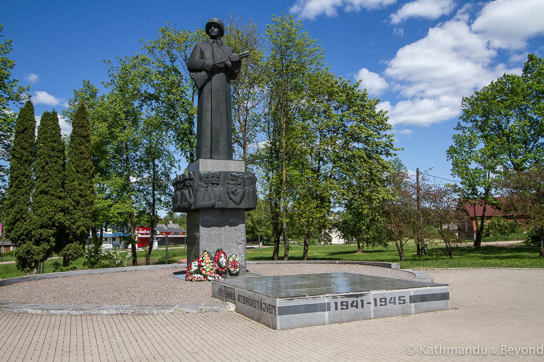 Monument to the Liberators of Rēzekne Rēzekne Latvia