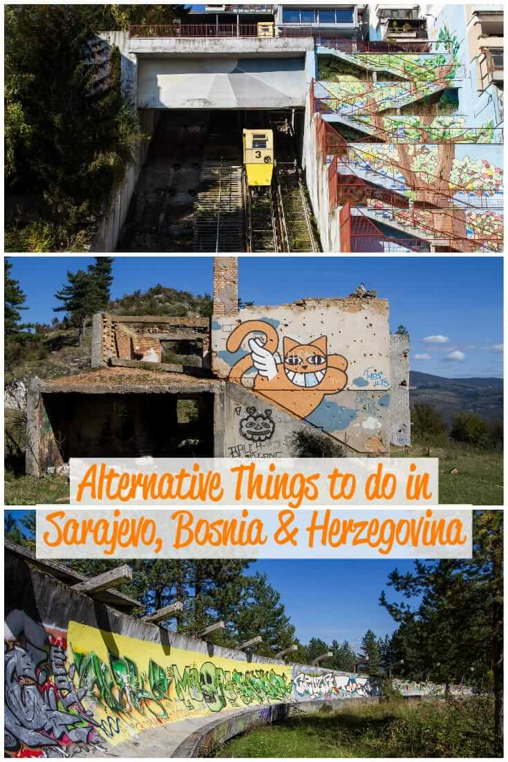 Alternative things to do in Sarajevo, Bosnia and Herzegovina, with a map of locations. A guide to unusual and Off-the-Beaten-Path places to see in Sarajevo #travel #Balkans #trlt #Europe