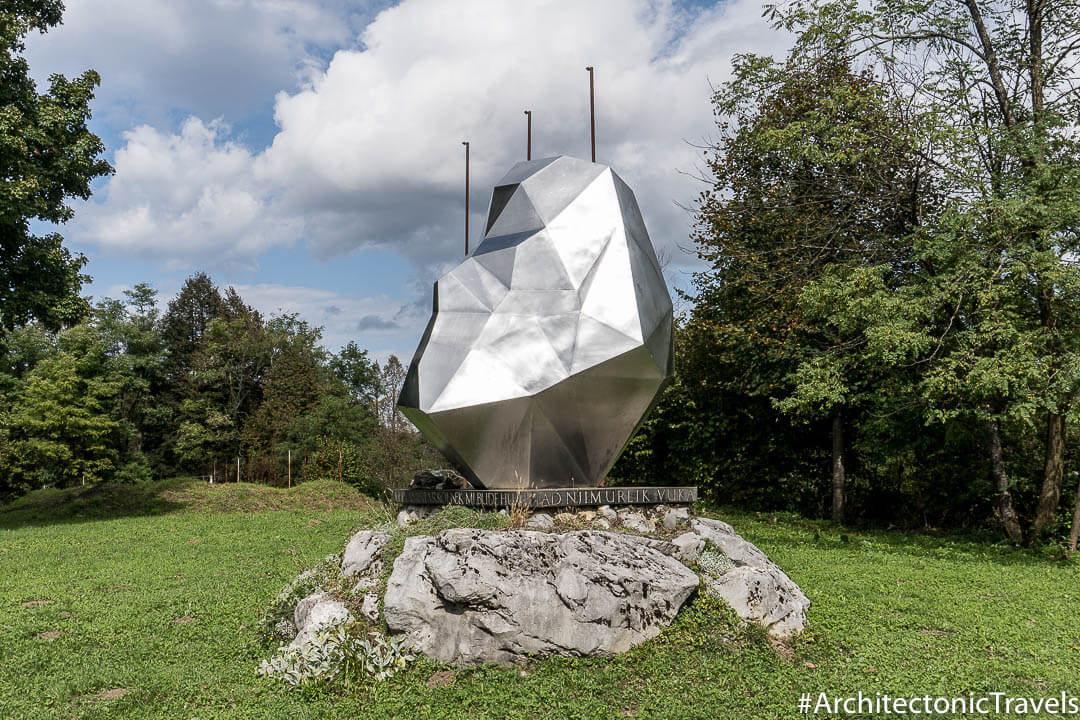 Monument To Ivan Goran Kovacic In Lukodov Croatia