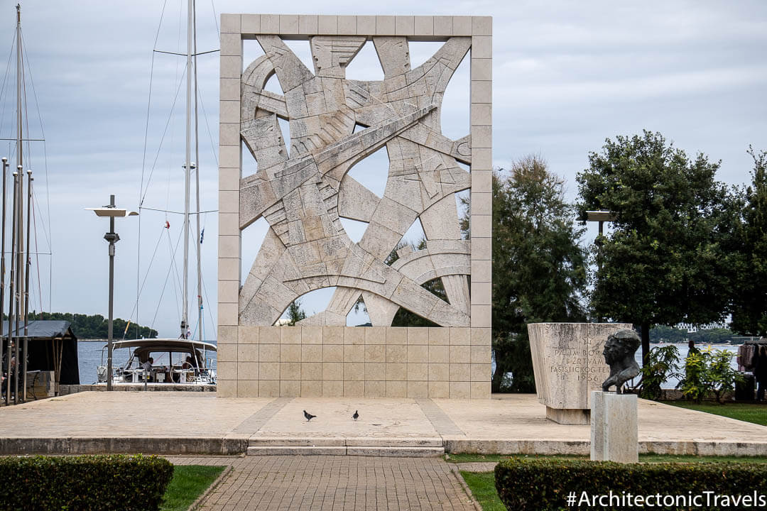 Monument to Fallen Fighters and Victims of Fascist Terror Rovinj Croatia
