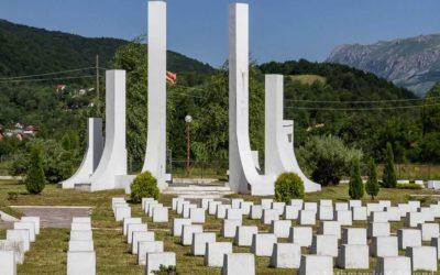 Partisan Memorial Cemetery Breza
