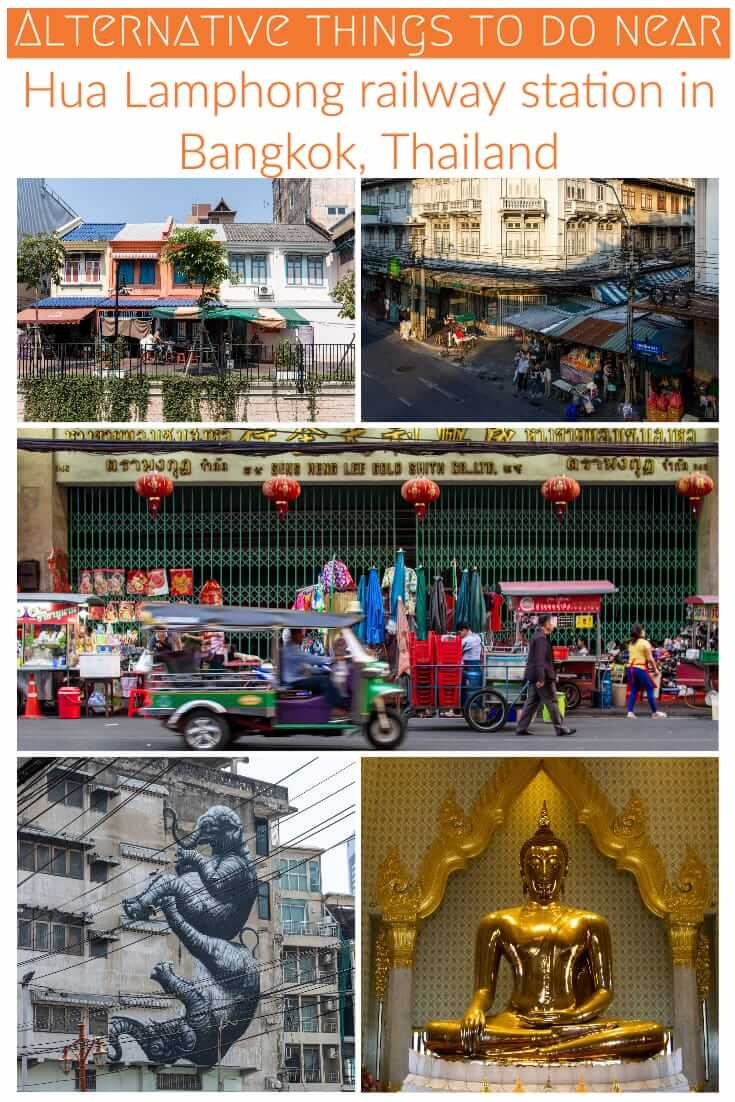 Things to do near Hua Lamphong train station in Bangkok, Thailand. A guide to getting off the beaten path in Bangkok #travel #Asia #SEAsia