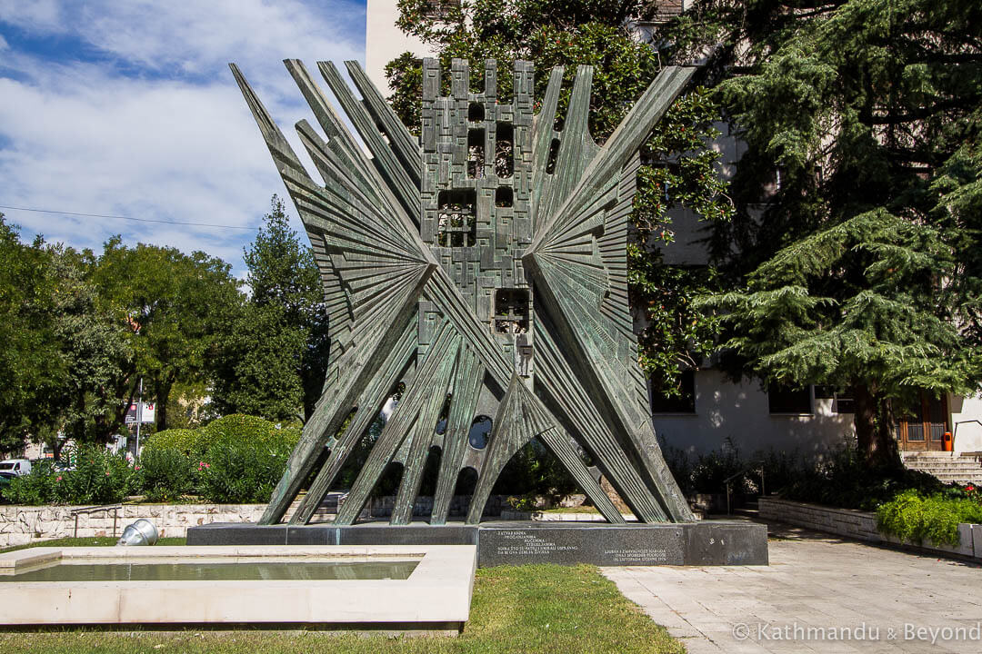Monument to the Political Prisoners Interned and Deported Split Croatia