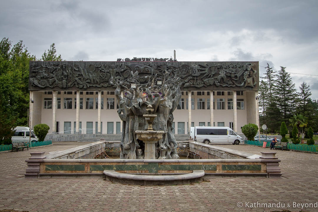 Palace of Culture in Khobi, Georgia | Modernist | Soviet architecture | former USSR