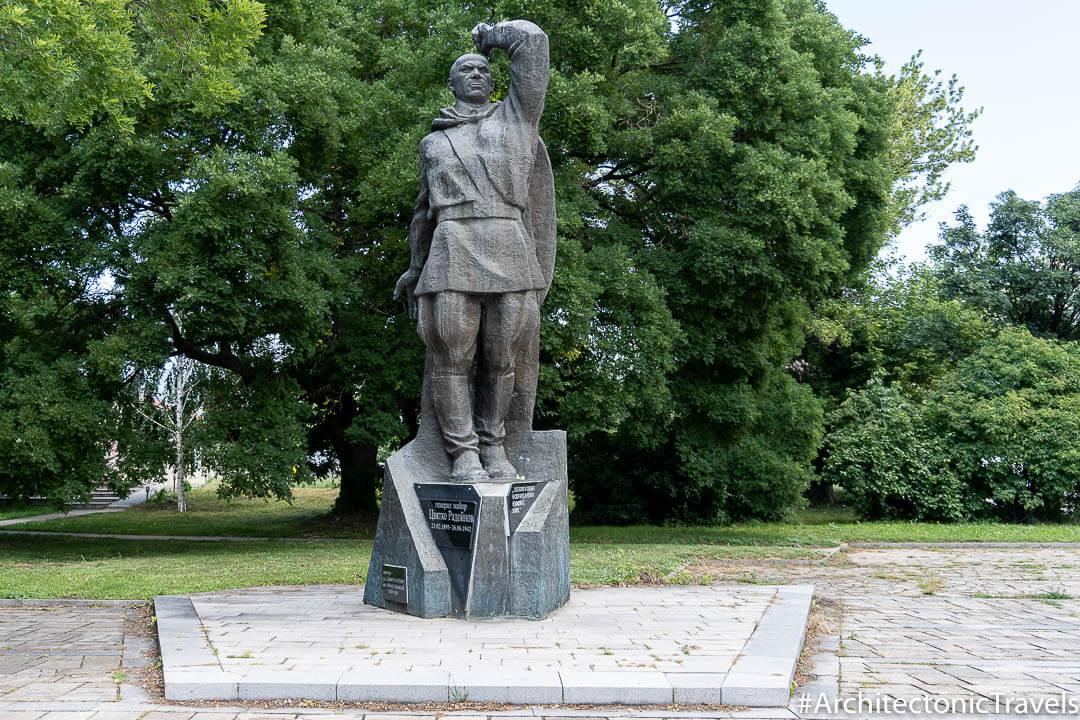 Monument to General Major Tsvetko Radon Kran Bulgaria