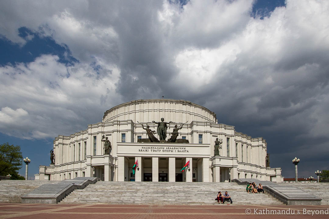 The National Academic Bolshoi Opera and Ballet Theatre of the Republic of Belarus Minsk Belarus-4-2
