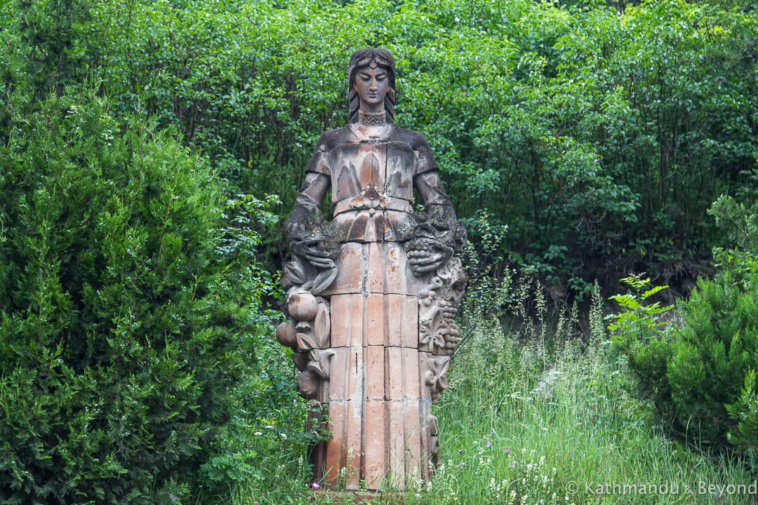 Monument to Fertility in Dilijan, Armenia | Soviet monument | former USSR