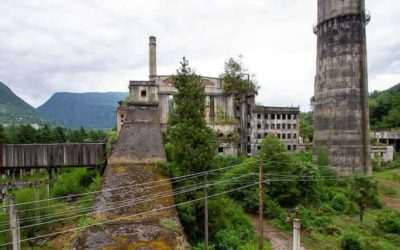 Abandoned Abkhazia: Thermal Power Plant in Tkvarcheli