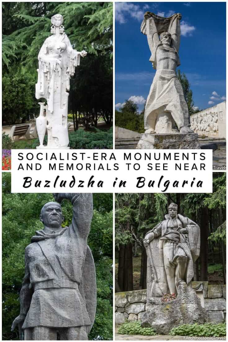 A comprehensive guide to the socialist-era monuments and memorials near Buzludzha in Bulgaria. What to see in and around Shipka and Kazanlak #history #travel #Balkans #europe #Socialist
