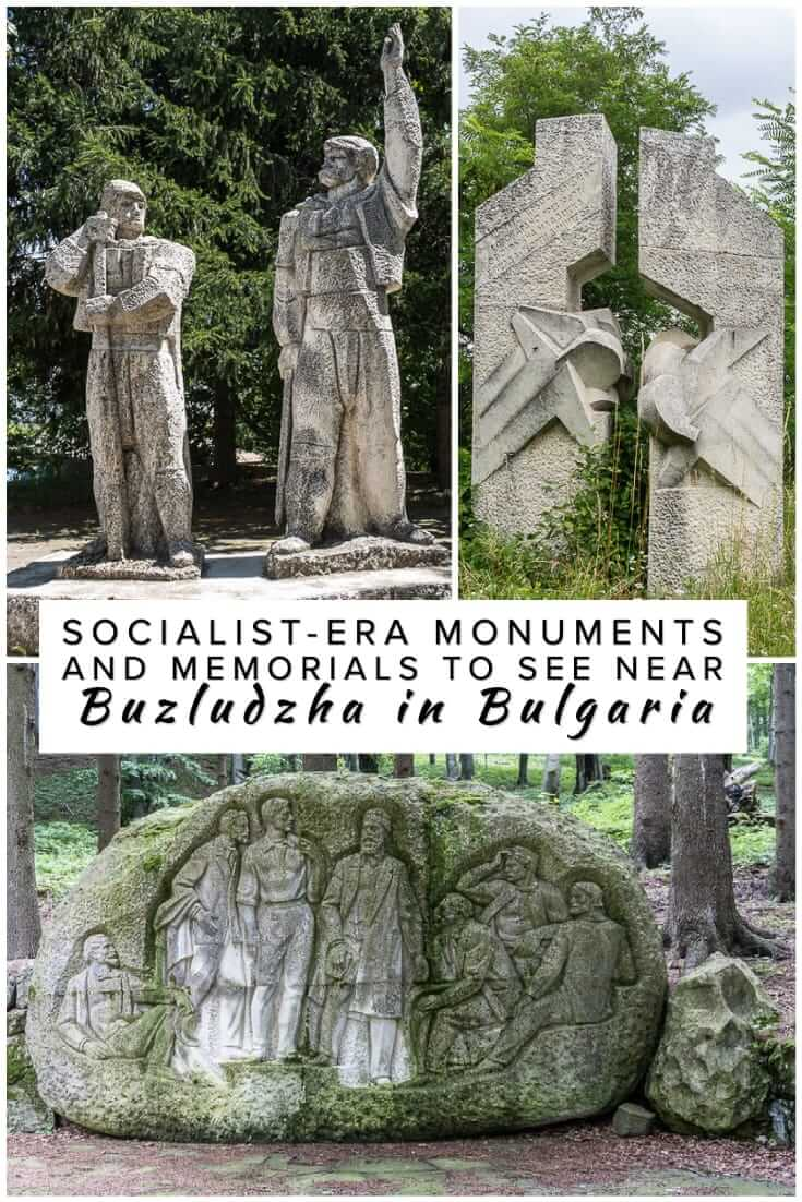 A comprehensive guide to the socialist-era monuments and memorials near Buzludzha in Bulgaria. What to see in and around Shipka and Kazanlak #history #travel #Balkans #europe #Socialist #Shipka