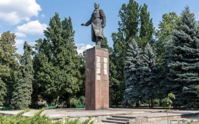 Monument to Serghei Lazo