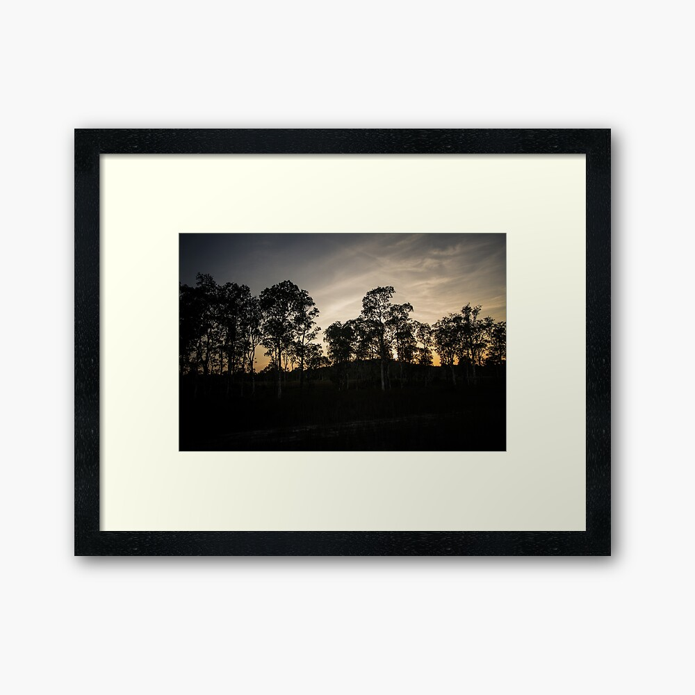 Koh Rong Sunset Framed Print