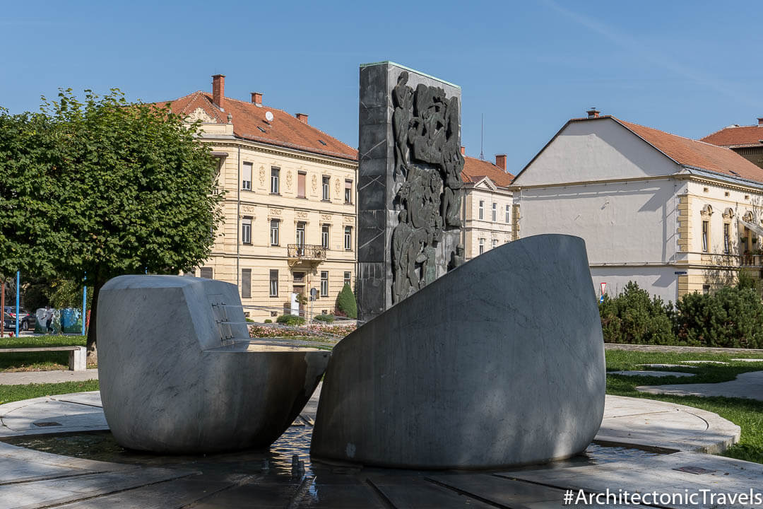 Monument to War and Peace Celje Slovenia