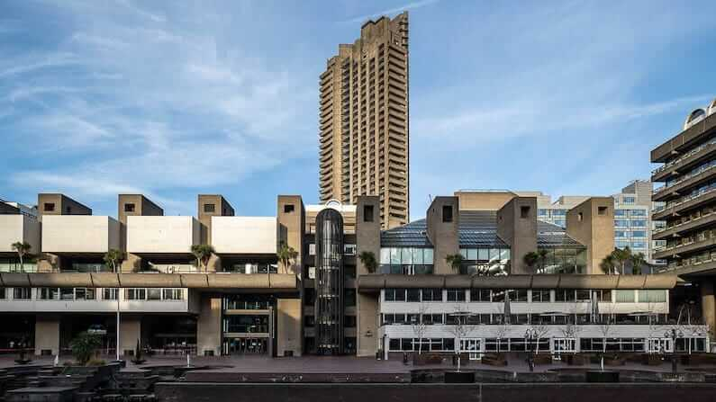 A history of the Barbican Estate and the surrounding area in the City of London