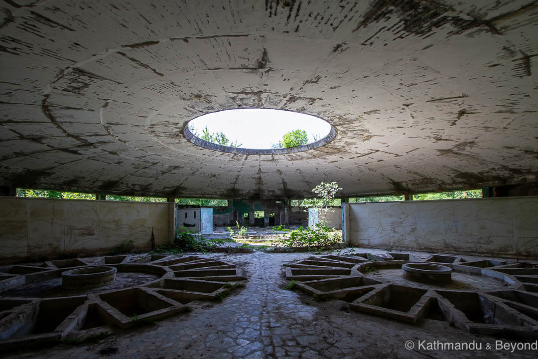 Bath House number 8 in Tskaltubo, Georgia | Modernist | Soviet architecture | former USSR