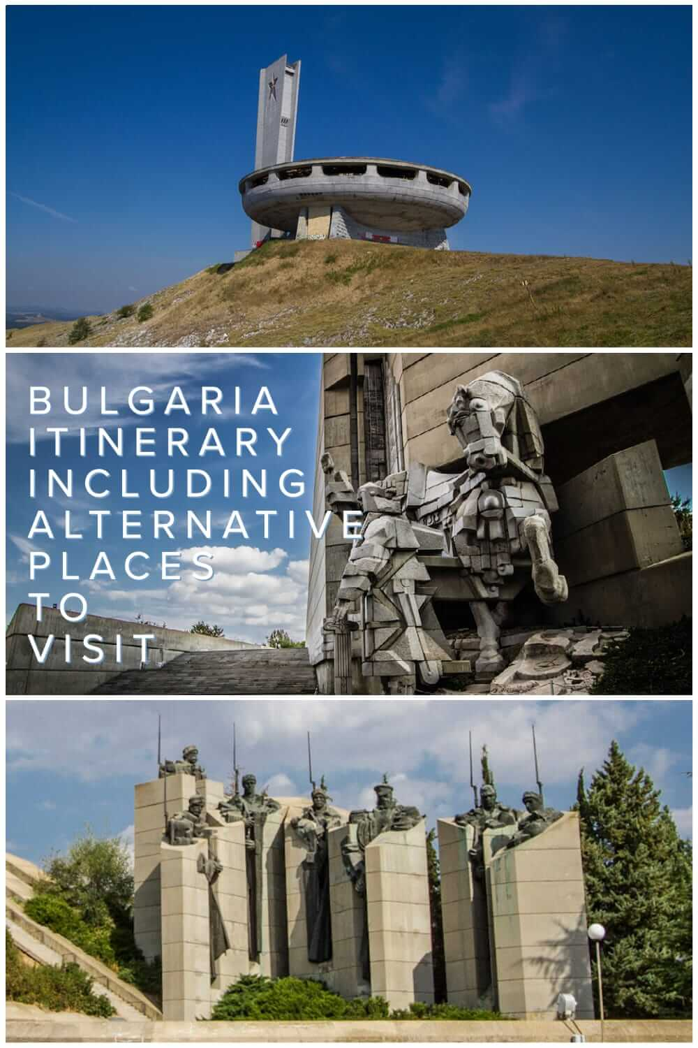 Comprehensive Bulgaria itinerary for backpackers and independent travellers to Bulgaria. What to see in Bulgaria in a 2 to 3 weeks #travel #backpacking #travelplanning #Balkans #alternative