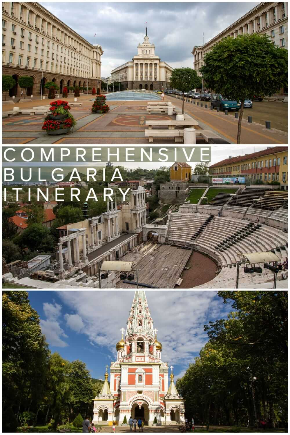 Comprehensive Bulgaria itinerary for backpackers and independent travellers to Bulgaria. What to see in Bulgaria in a 2 to 3 weeks #travel #backpacking #travelplanning #Balkans #europe