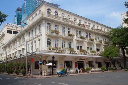 Hotel Continental Saigon Ho Chi Minh City Vietnam  | Vietnam War Heritage Ho Chi Minh City
